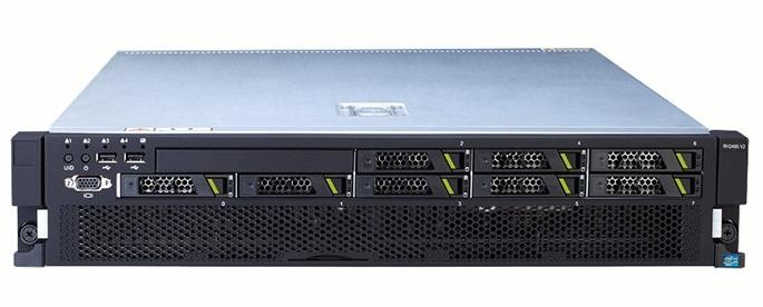 Сервер Huawei Tecal RH2288H V2 E5-2620v2 Rack(2U)/1xXeon6C 2.1GHz(15MB)/1x8GbR2D_1866/SR320BCwFBWC1G