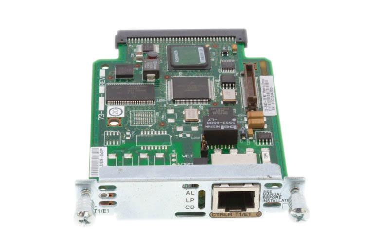Модуль интерфейсный VWIC2-1MFT-T1/E1= 1-port RJ-48 multiflex voice/WAN trunk (T1/E1)