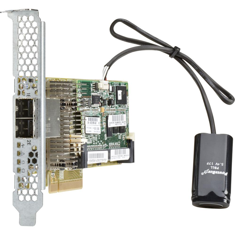 Контроллер HP SAS Controller Smart Array P431/4GB FBWC/6Gb/2-port Ext, PCI-e 3.0/698532-B21
