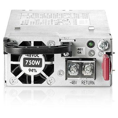 Блок питания Hot Plug Redundant Power Supply Platinum Plus 750W (-48VDC) Option Kit for DL360p/380pGen8