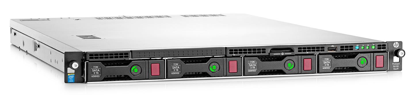 Сервер Proliant DL60 Gen9 E5-2603v3 NHP Rack(1U)/788079-425