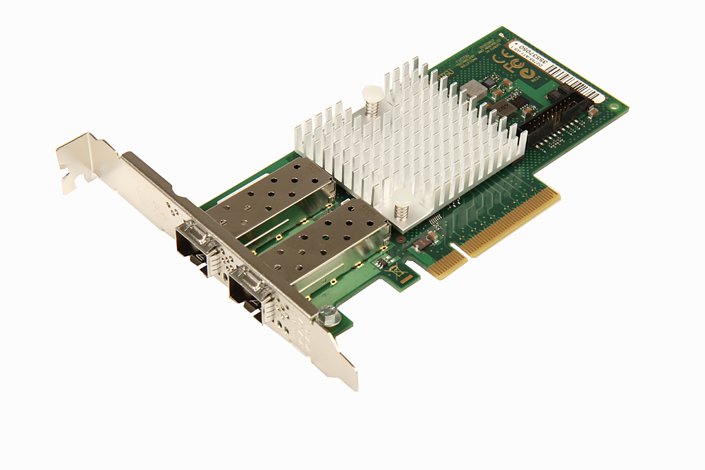 S26361-F3629-L502 Сетевая карта Fujitsu Eth Ctrl 2x10Gbit PCIe x8 D2755 SFP+, S26361-F3629-L502