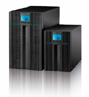 ИБП Delta Amplon N-серия 2 кВА. Исполнение напольное, On-line, 230В, 50 Гц, время автономной работы 7 мин при нагрузке 75%. Габариты