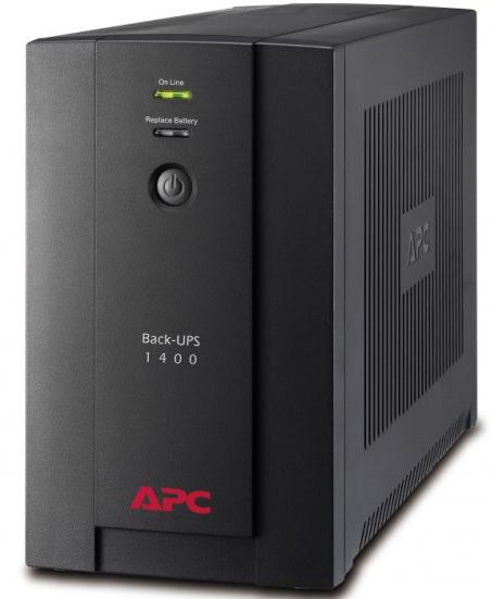 BX1400UI �������� �������������� ������� APC Back-UPS 1400VA/700W, 230V, AVR, Interface Port USB, (6) IEC