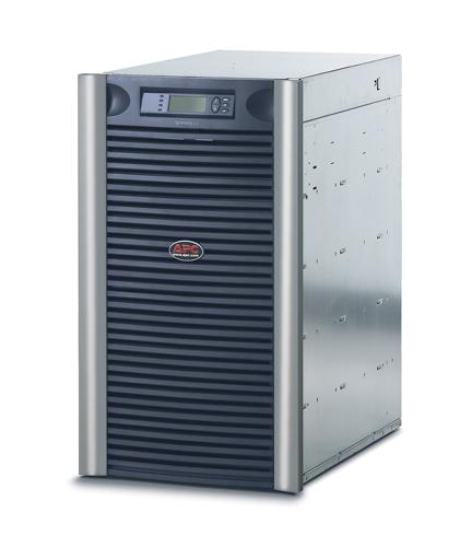 ИБП SYA12K16RMI APC Symmetra LX 8.4W/12kVA Scalable to 11.2kW/16kVA, Вх. 230V, 400V 3PH / Вых. 230V, (8)C13, (10)C19, DB-9 RS-232,