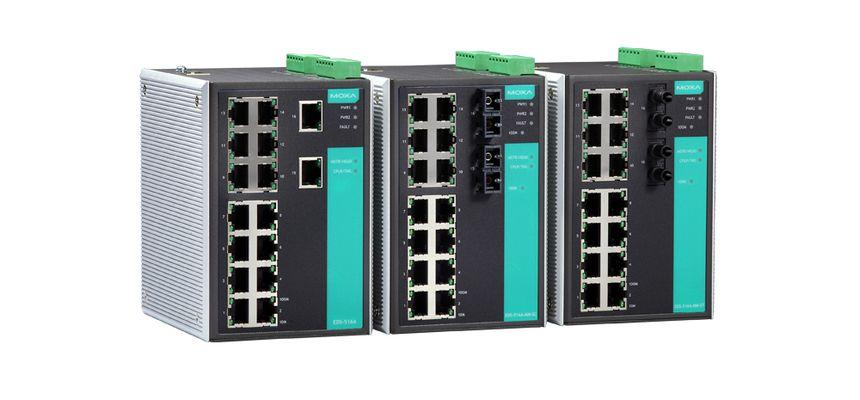 MOXA EDS-516A-MM-SC-T