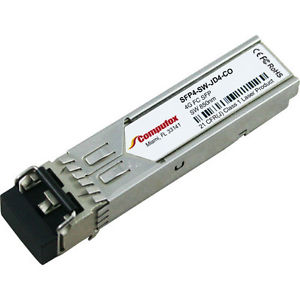 Комплект 4 шт. SFP-модулей Qlogic SFP8-SW-4PK 8Gb (4-pack) short-wave, 850nm SFP+ optics with LC connectors.