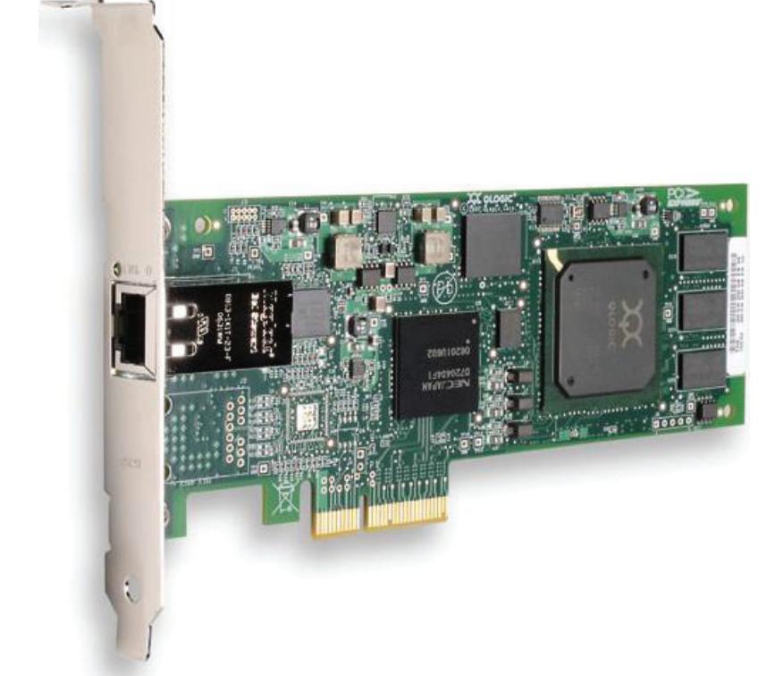 QLA4050C-CK Контроллер Qlogic QLA4050C-CK 1Gb Single Port iSCSI HBA, 133MHz PCI-X, RJ-45 copper