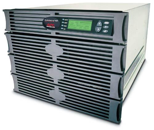 ИБП SYH2K6RMI APC Symmetra RM 1.4kW/2kVA Expandable to 4.3kW/6kVA or N+3, Вх. 230V / Вых. 230V, (8)C13, (2)C19; DB-9 RS-232, RJ-45