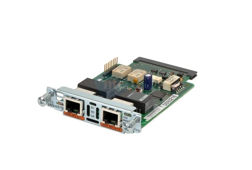 Модуль VIC2-2BRI-NT/TE= голосовой Two-port Voice Interface Card - BRI (NT and TE)
