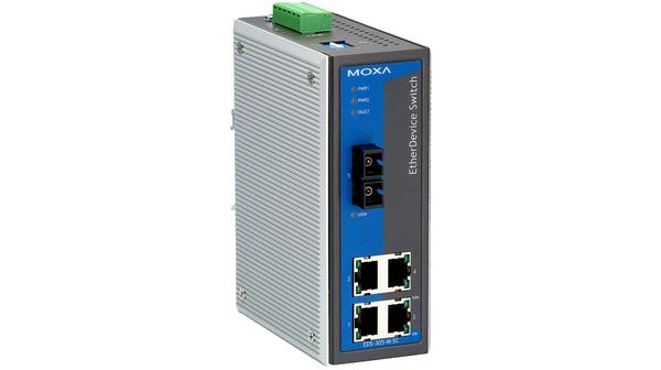 MOXA EDS-305-M-SC