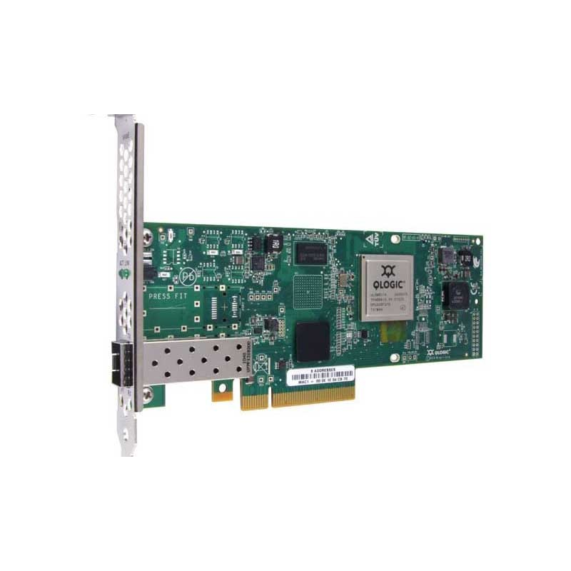 Контроллер Qlogic QLE8240-CU-CK 10Gb Single Port FCoE & iSCSI CNA, x8 PCIe, no transceivers installe
