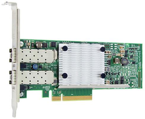 Контроллер Qlogic QLE8442-SR-CK Dual port PCIe Gen3 to 10Gb CNA SR Optics Adapter