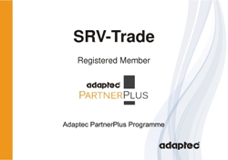 Сертификат Adaptec Partner Plus