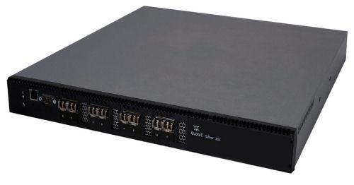 Коммутатор Qlogic SB5800V-08A-E SANbox 5800V full fabric switch with (8) 8Gb ports enabled, plus (4)