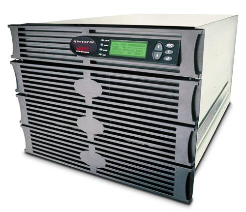 ИБП SYH4K6RMI APC Symmetra RM 2.8kW/4kVA Expandable to 4.3kW/6kVA or N+2, Вх. 230V / Вых. 230V, (8)C13, (2)C19; DB-9 RS-232, RJ-45