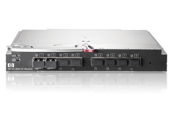 Коммутатор HP BladeSystem cClass 8Gb Virtual Connect Fibre Channel Module (8 external SFP slots, incl 2x8Gb LC SW SFP) req. VC Eth