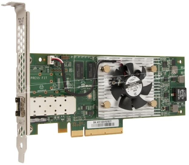 Контроллер Qlogic QLE8442-CU-CK Dual port PCIe Gen3 to 10Gb CNA Direct Attach Copper Adapter
