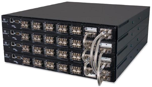 Коммутатор Qlogic SB5802V-08A-E SANbox 5802V full fabric switch with (8) 8Gb ports enabled, plus (4)
