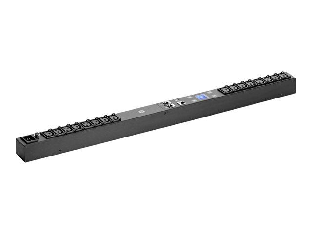 Устройство распределения электропитания HP 3Phase 11kVA 400V 16A Remote Monitored Power Distribution Unit (Outlets: 18xC13, 3xC19;