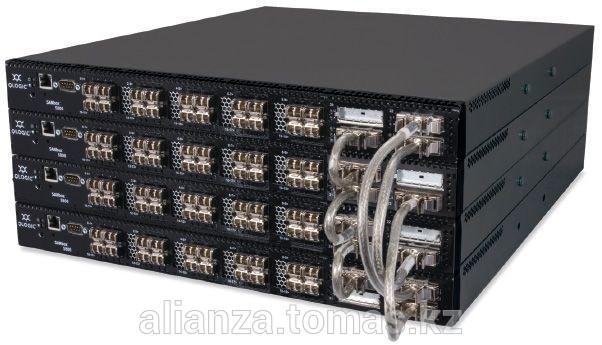 Коммутатор Qlogic SB5802V-08A8-E SANbox 5802V full fabric switch with (8) 8Gb ports enabled, plus (4