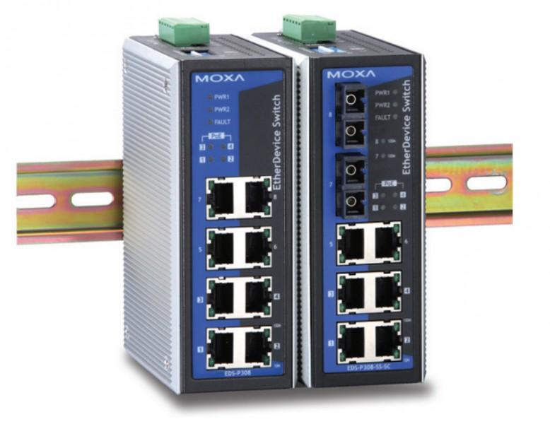 MOXA EDS-P308-M-SC