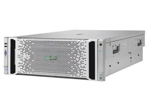 Сервер HP Proliant DL580 Gen9 E7-8890v4 Rack(4U)/4xXeon24C 2.2GHz(60Mb)/16x16GbR1D_2400(8xMC)/P830i(4Gb/RAID0/1/10/5/50/6/60)/noHDD(5