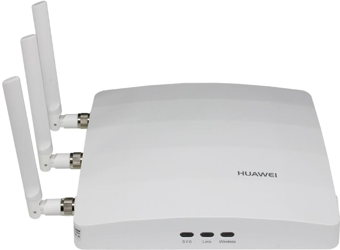 Беспроводная точка доступа Huawei AP7110SN-GN Bundle(11n, Enhanced AP Indoor, 3x3 Single Frequency, External Antenna, AC/DC adapter(EU))