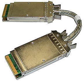 "Кабель Qlogic XPAK-COPP-78 10Gb/20Gb 78"""" (2m) copper stacking cable with integrated XPAK connectors."