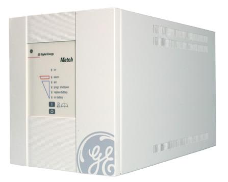 ИБП General Electric UPS Match 1000 255x180x360 16,5кг